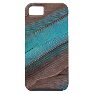 Capa Tough Para iPhone 5 Penas da asa do martinho pescatore