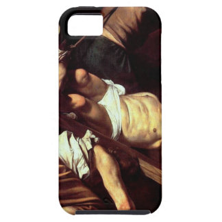 "Capa Tough Para iPhone 5 Pintura original ""La crocifissione di s Pietro """