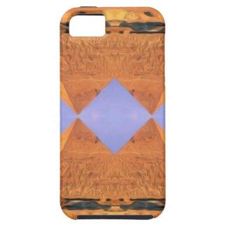 Capa Tough Para iPhone 5 Pirâmides psicadélicos