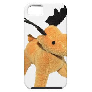 Capa Tough Para iPhone 5 Png transparente dos cervos do Natal