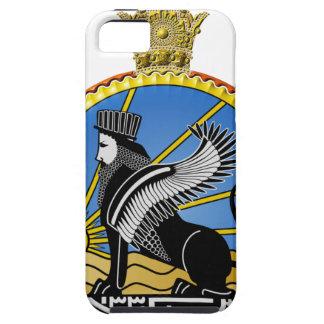 Capa Tough Para iPhone 5 Polícia secreta de Savak Irã
