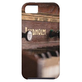 Capa Tough Para iPhone 5 Polônia antigo velho da música do instrumento do