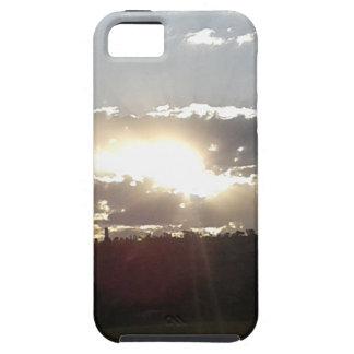 Capa Tough Para iPhone 5 Por do sol de Imperani
