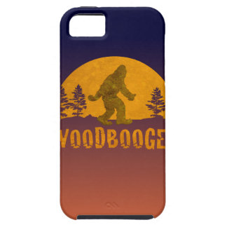 Capa Tough Para iPhone 5 Por do sol do vintage de Woodbooger