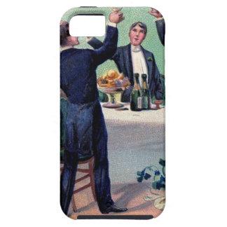 Capa Tough Para iPhone 5 Poster vintage original da bebida do dia de