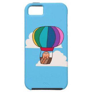 Capa Tough Para iPhone 5 Preguiça do balão de ar quente