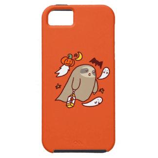 Capa Tough Para iPhone 5 Preguiça do fantasma do Dia das Bruxas