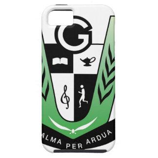 Capa Tough Para iPhone 5 Produtos da crista da reunião dos alunos de GGMSS