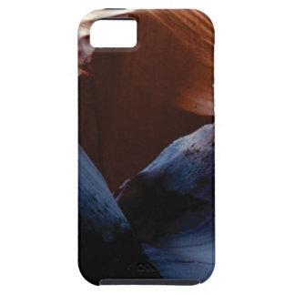 Capa Tough Para iPhone 5 profundidade das rochas