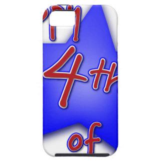 Capa Tough Para iPhone 5 Quarto da celebração de julho