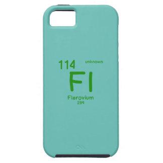 Capa Tough Para iPhone 5 Química do hipster