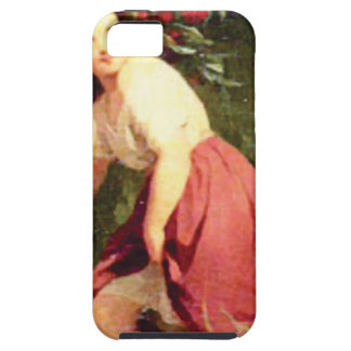 Capa Tough Para iPhone 5 ramo da cereja da posse das meninas