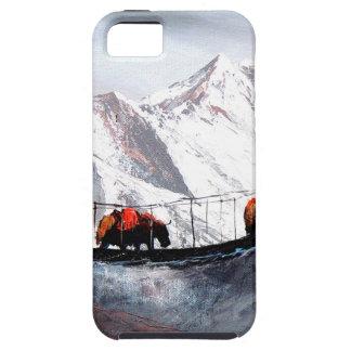 Capa Tough Para iPhone 5 Rebanho de iaques Himalaya da montanha