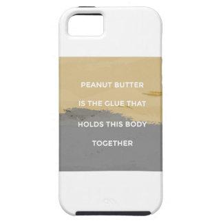 Capa Tough Para iPhone 5 Regras da manteiga de amendoim