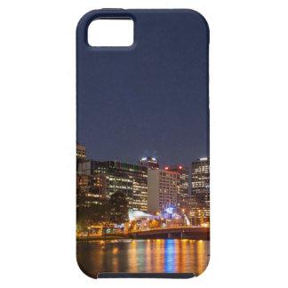 Capa Tough Para iPhone 5 Rio de Melbourne Yarra na noite