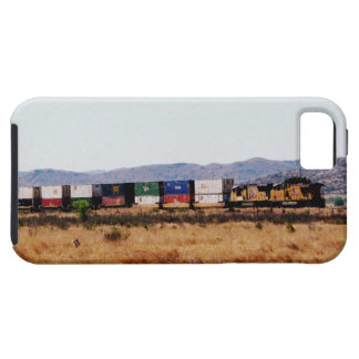 Capa Tough Para iPhone 5 Rolamento através do Texas-Trem