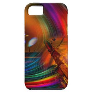 Capa Tough Para iPhone 5 Romance of sailing - Calcular o tempo túneis