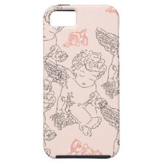 Capa Tough Para iPhone 5 Rosebud
