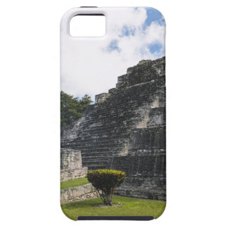 Capa Tough Para iPhone 5 Ruínas maias de Chacchoben do Maya da costela