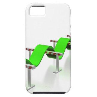 Capa Tough Para iPhone 5 Salto sobre alguns obstáculos