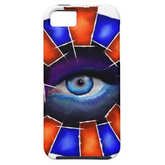 Capa Tough Para iPhone 5 Salvenitus - olho de observação