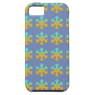 Capa Tough Para iPhone 5 SE do iPhone + iPhone 5/5S, flocos de neve