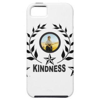 Capa Tough Para iPhone 5 selo preto da bondade