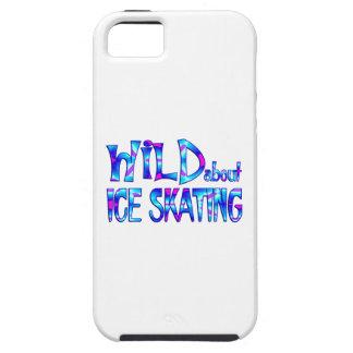 Capa Tough Para iPhone 5 Selvagem sobre o patinagem no gelo