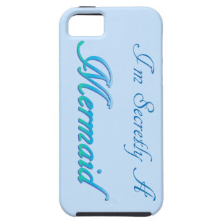 Capa Tough Para iPhone 5 Sereia secreta