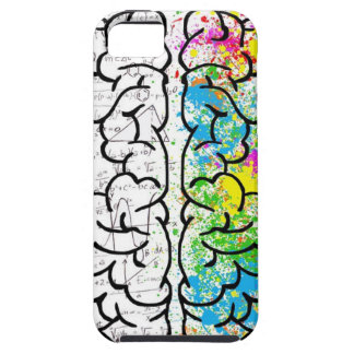 Capa Tough Para iPhone 5 série do cérebro