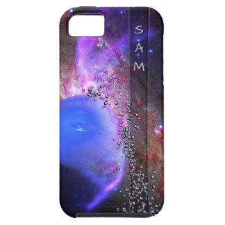 Capa Tough Para iPhone 5 Seu nome na Via Láctea