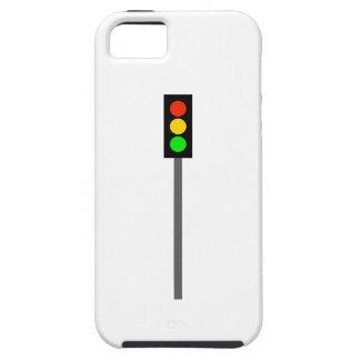 Capa Tough Para iPhone 5 Sinal de trânsito em Pólo