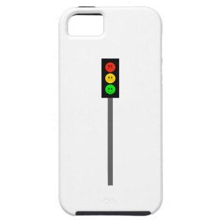 Capa Tough Para iPhone 5 Sinal de trânsito temperamental em Pólo