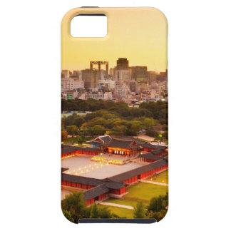 Capa Tough Para iPhone 5 Skyline de Seoul Coreia do Sul