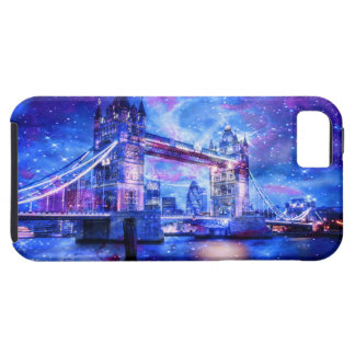 Capa Tough Para iPhone 5 Sonhos da Londres do amante