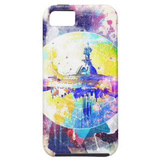 Capa Tough Para iPhone 5 Starships Phate-Abandonado
