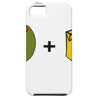 Capa Tough Para iPhone 5 Suco verde-oliva eu te amo