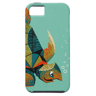 Capa Tough Para iPhone 5 Tartaruga de mar australiana animador