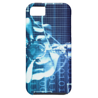 Capa Tough Para iPhone 5 Tecnologias integradas em um conceito nivelado