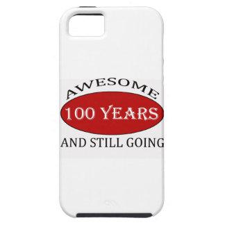 CAPA TOUGH PARA iPhone 5 TENDENDO 100 ANOS DE DESIGN VELHO DO ANIVERSÁRIO