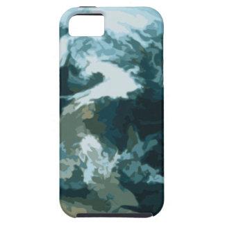 Capa Tough Para iPhone 5 Terra pintada