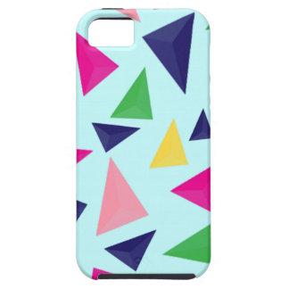 Capa Tough Para iPhone 5 Teste padrão geométrico colorido II