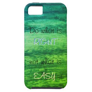 Capa Tough Para iPhone 5 Textura de madeira verde