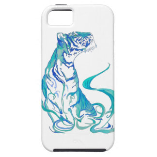 Capa Tough Para iPhone 5 tigre