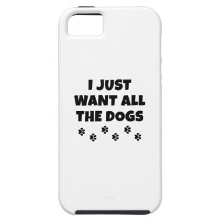 Capa Tough Para iPhone 5 Todos os cães