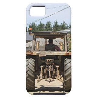 Capa Tough Para iPhone 5 Trator cinzento no EL Camino, espanha