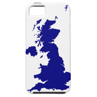 Capa Tough Para iPhone 5 U.K. e silhueta de Irlanda do Norte