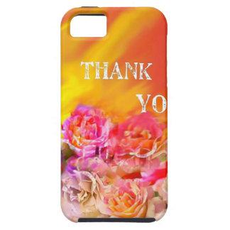 Capa Tough Para iPhone 5 Um cheio da mão dos obrigados tende para você