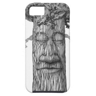 Capa Tough Para iPhone 5 Um &W poderoso do cobrir da árvore
