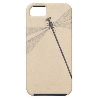 Capa Tough Para iPhone 5 Uma libélula, por Nicolaas Struyk, cedo 18o C.